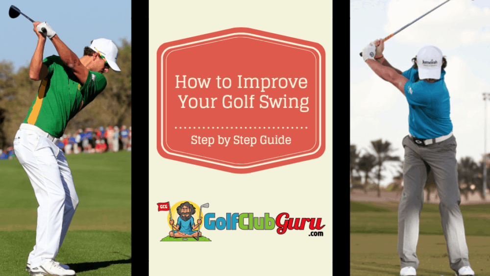 improve golf swing step by step