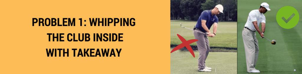 inside takeaway flat golf