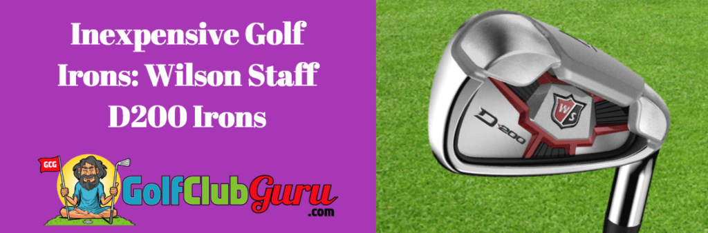 cheap golf irons