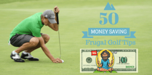 Frugal golf tips to save money