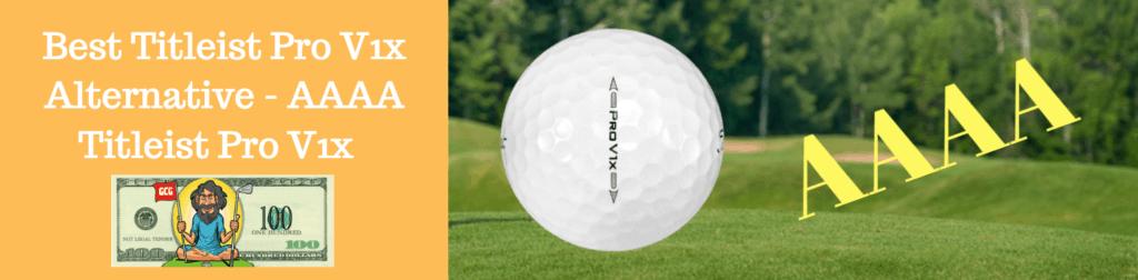 pro v1x used golf balls aaaaa aaa aaaa