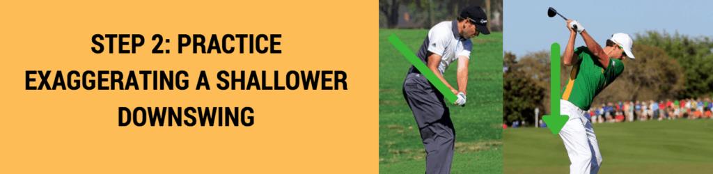 golf downswing drop