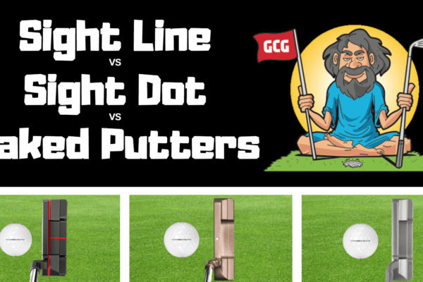 sight line dot naked putters