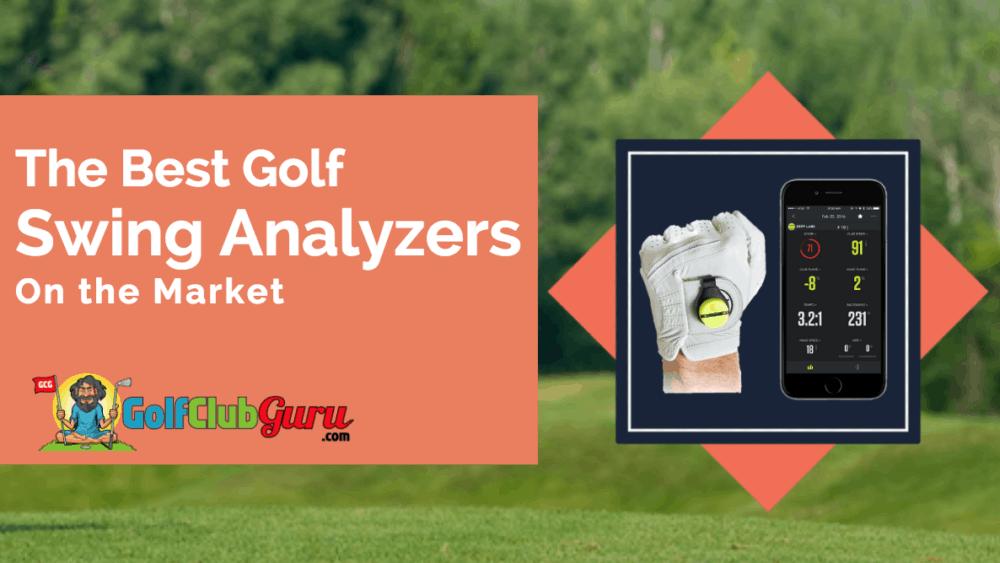 golf analysis tool gadget