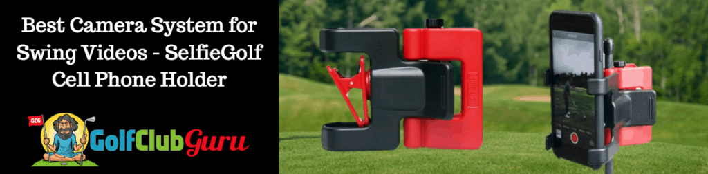 video attachment golf camera holder phone