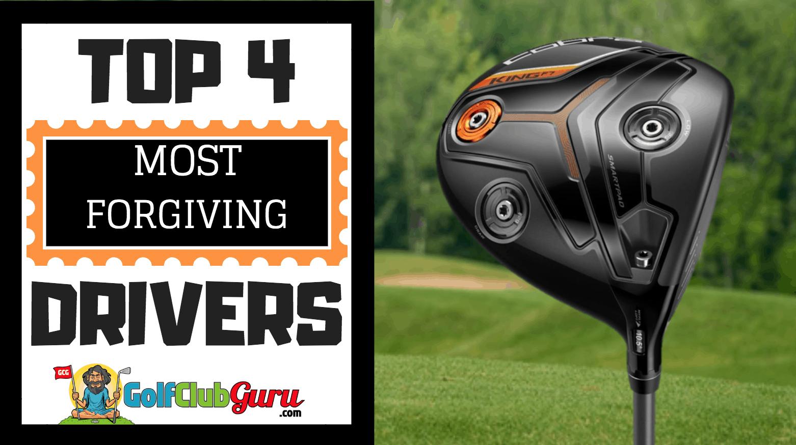 most forgiving new golf driver