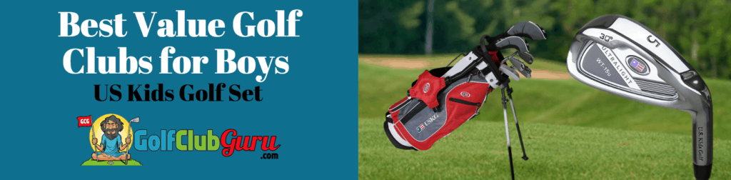US Kids golf club review boys