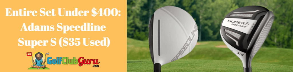 adams speedline 3 wood under 50