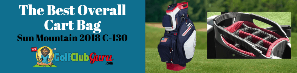 the best cart bag 2018 2019