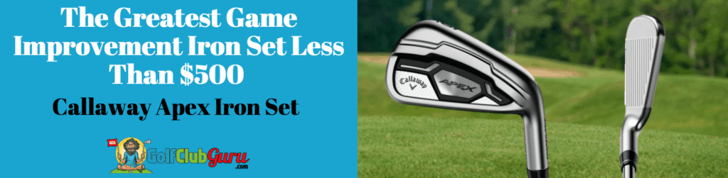 best game improvement irons under $500