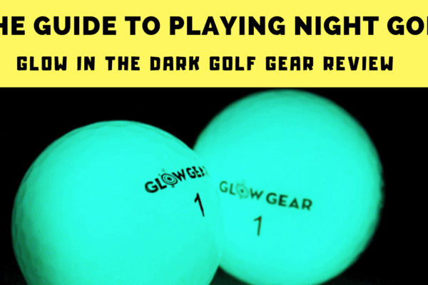 glow in the dark golf balls night
