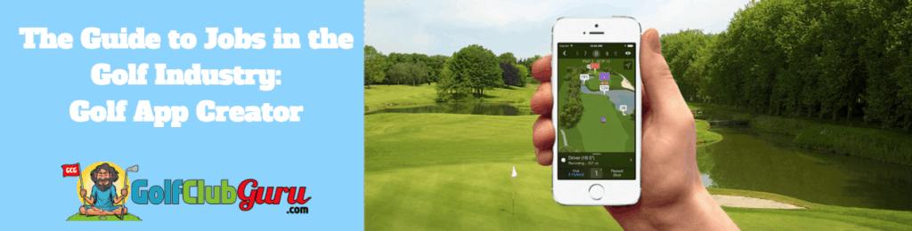 create a golf app