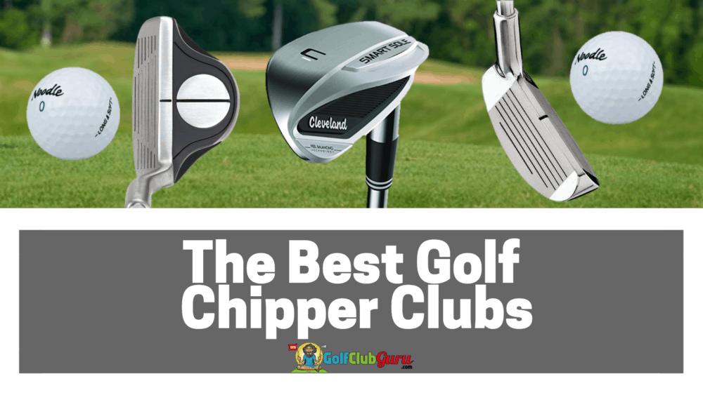 best golf chipper club wedge