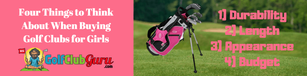 buy girls golf set complete entire full