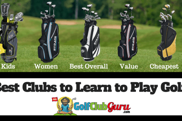 best clubs to learn to play golf