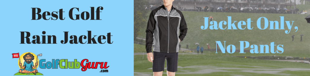 golf rain jacket suit