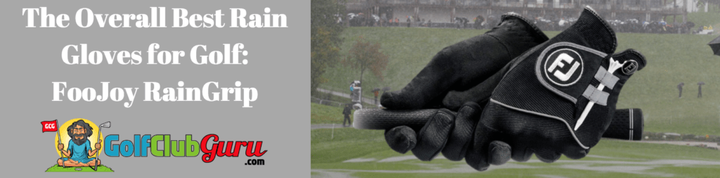 footjoy raingrip gloves best rain gloves