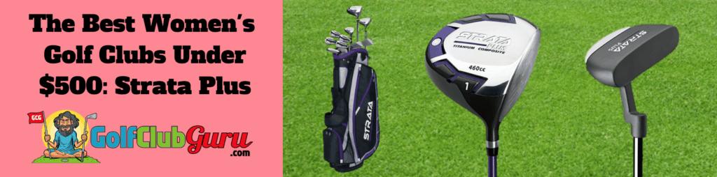 good value ladies golf clubs