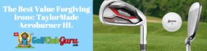forgiving irons large sweet spots
