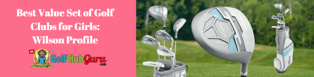good value golf clubs for money budget