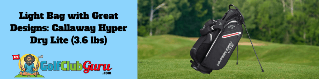 light weight best golf bags