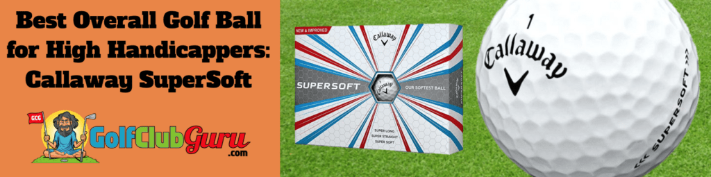 best golf balls for high handicap golfers