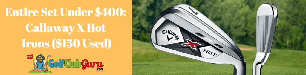 callaway x hot game improvement irons