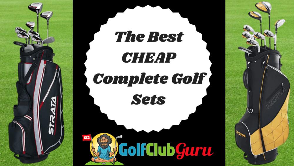 cheapest golf club set
