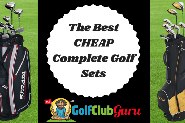 cheapest golf club set