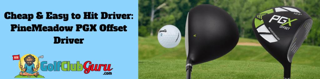 most forgiving golf driver