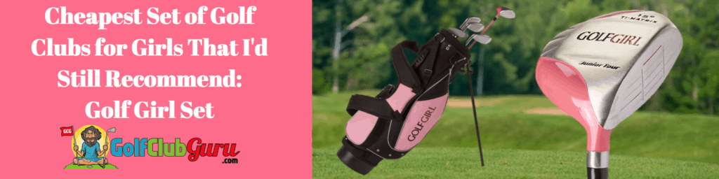 girls golf clubs high quality