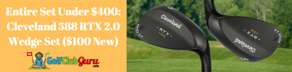 cleveland wedge set under 100