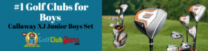 Callaway XJ Junior golf club set review pros cons