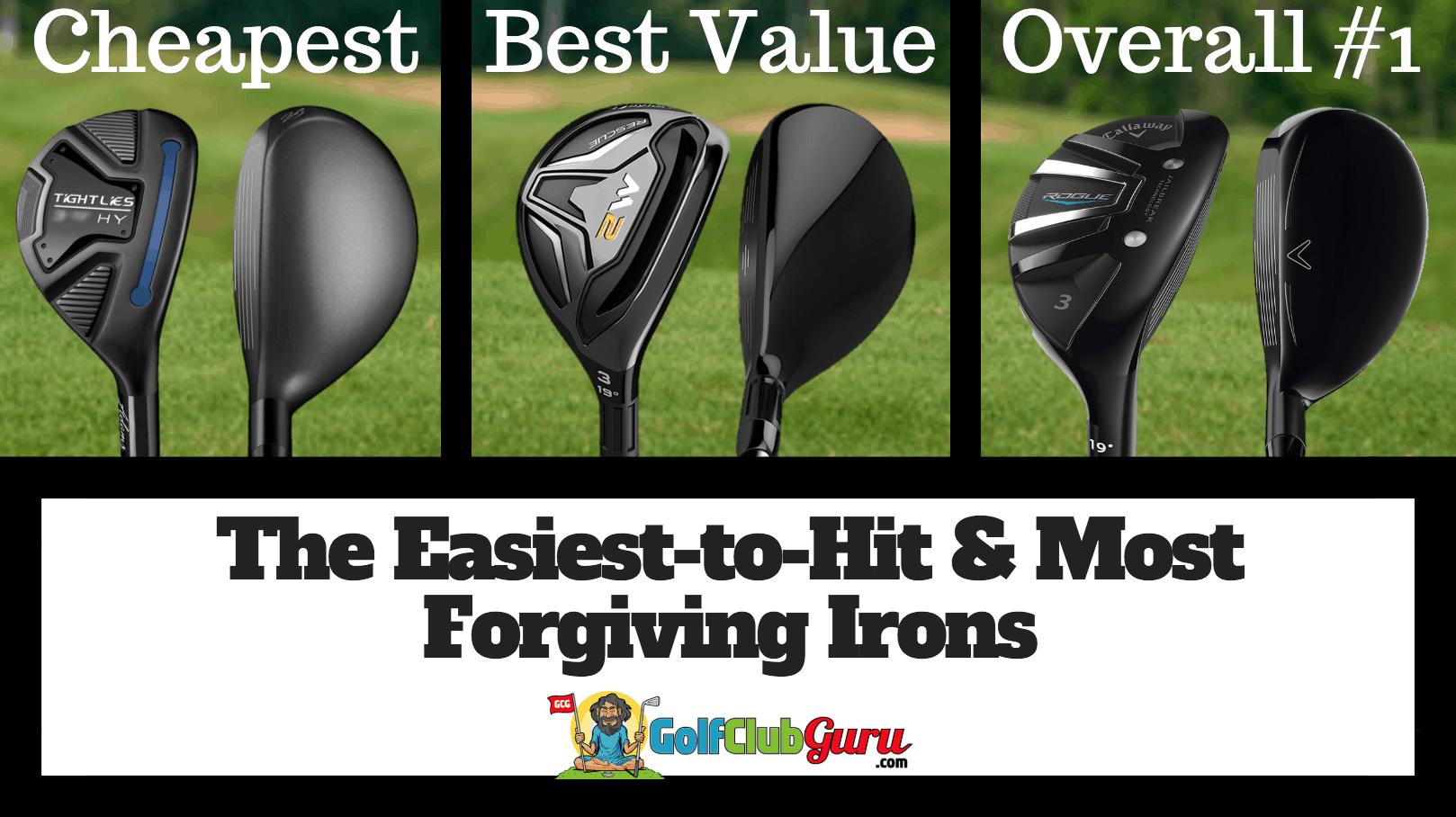 The Easiest Most Forgiving Hybrids Golf Club Guru