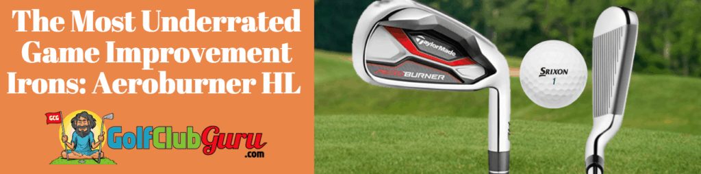 super easy to hit forgiving taylormade irons