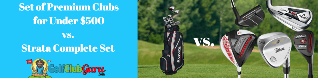 golf complete set or individual clubs review