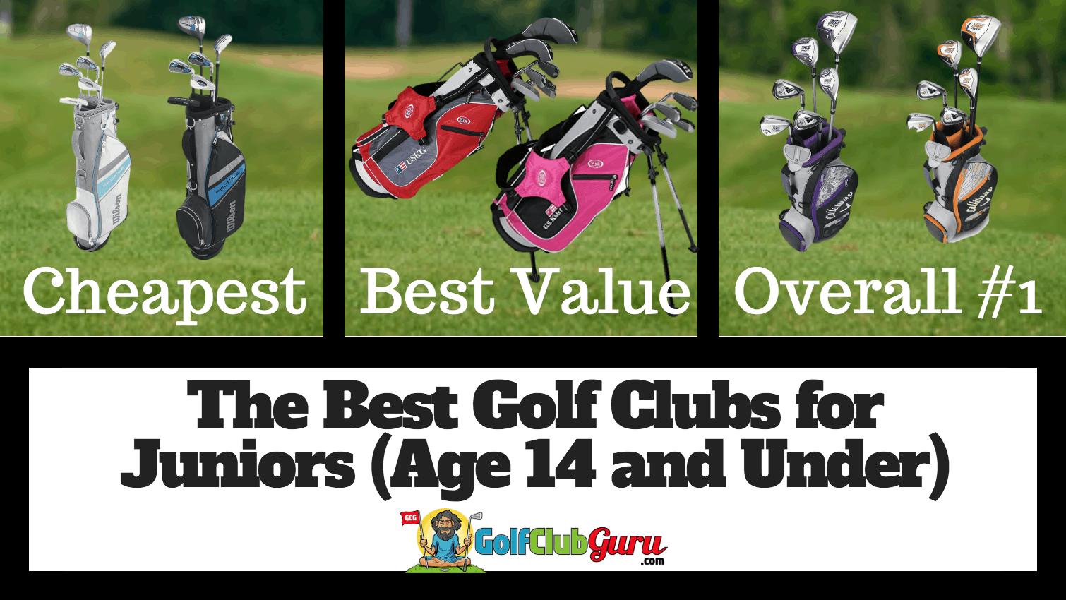 The Best Junior Golf Club Sets Age 14 And Under Golf Club Guru