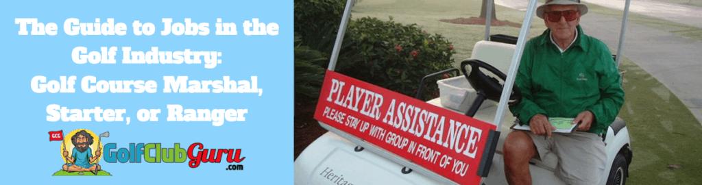 marshal ranger starter golf course