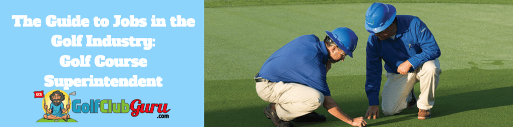 golf course superintendent