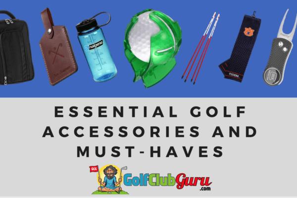 golf essentials necessities accessories must have in golf bag