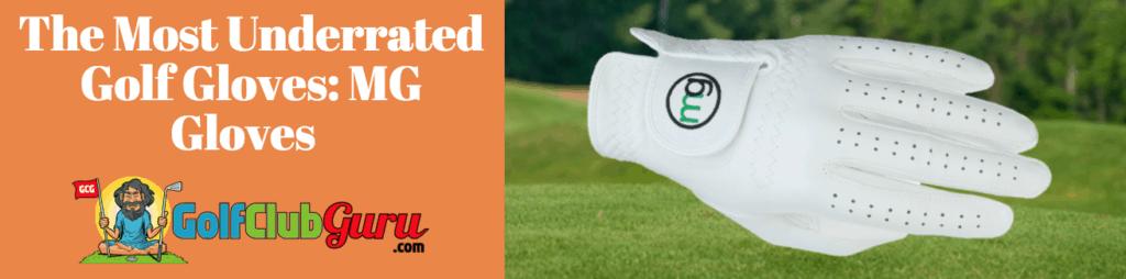 mg golf glove best value
