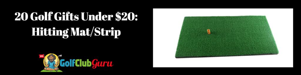 golf mat gift green