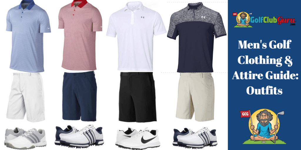 golf outfit ideas clothing attire