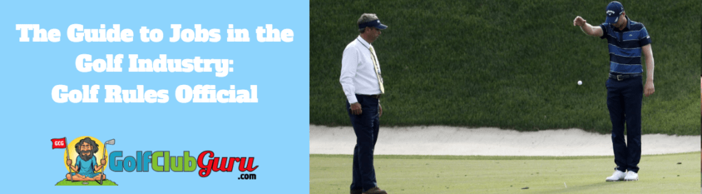 golf official referee rules