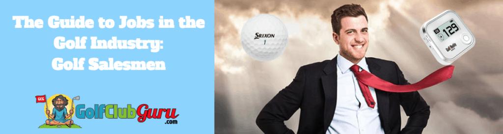 golf seller salesman