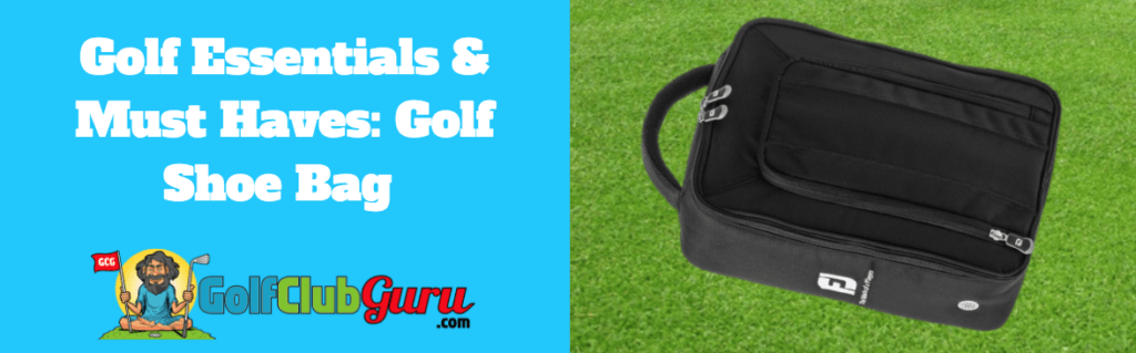 golf bag for shoes