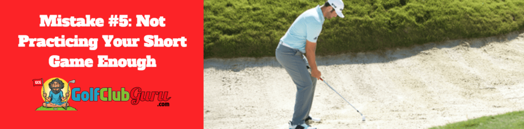 bunker pitch chip putt shot beginners