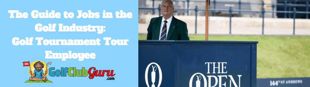 golf open announcer starter calls names