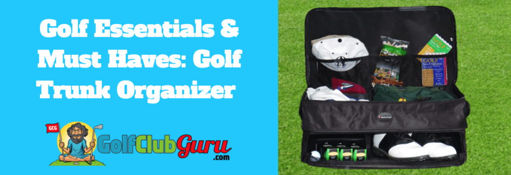 golf organizer for your car