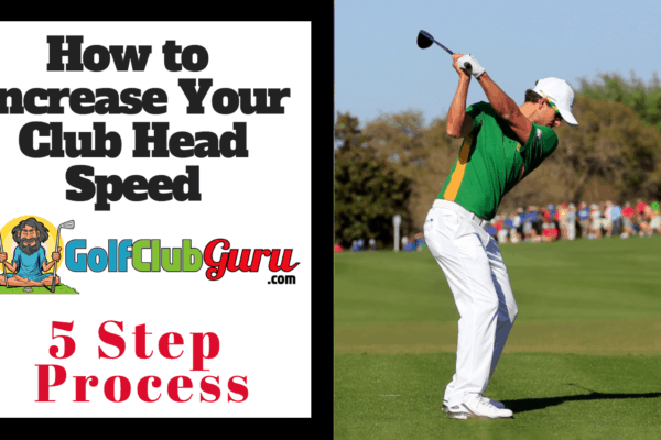 how to increase club head clubhead speed